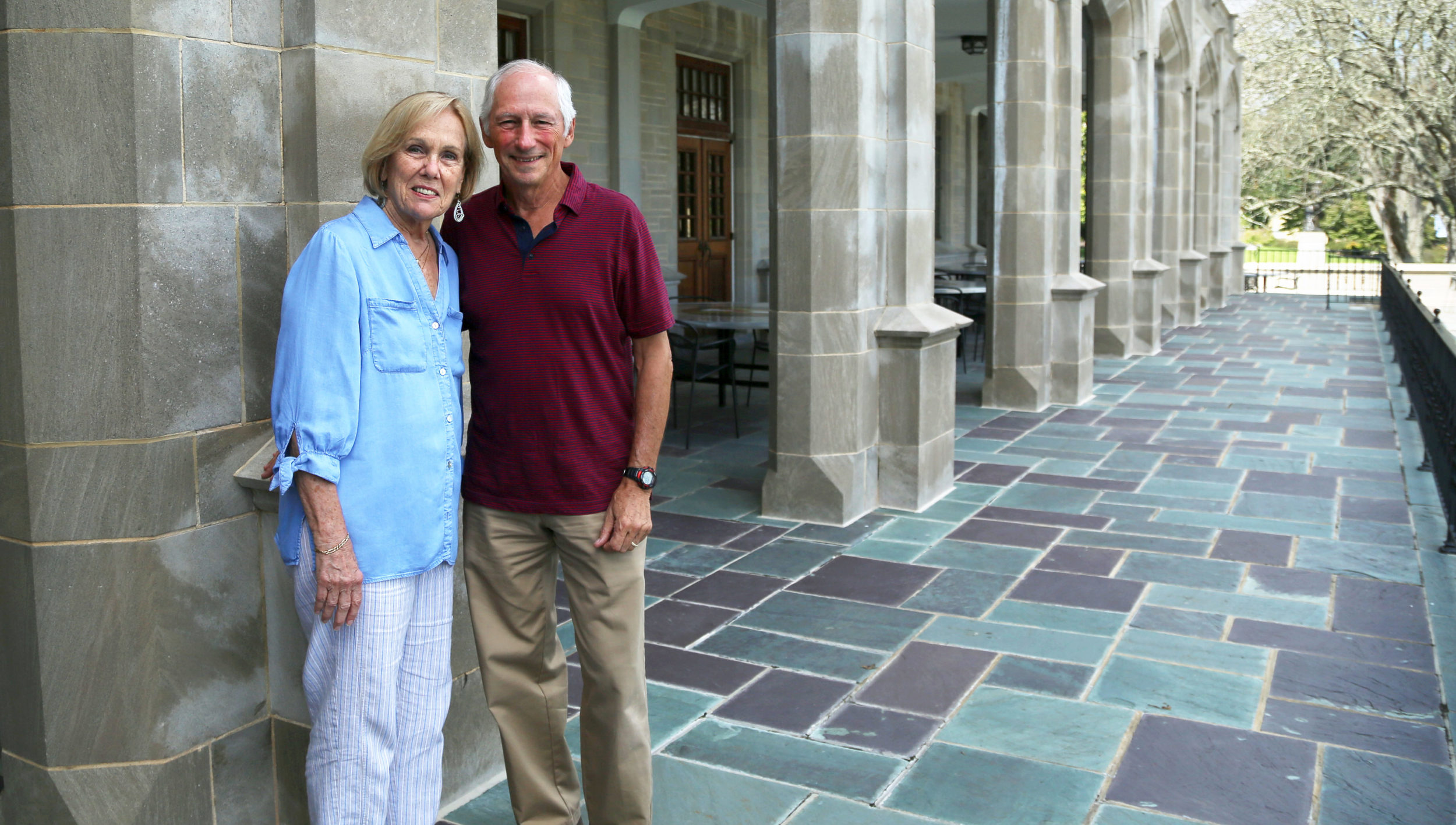 Paul Bouis '67, Ph.D., and his wife, Lois W. Ford-Bouis