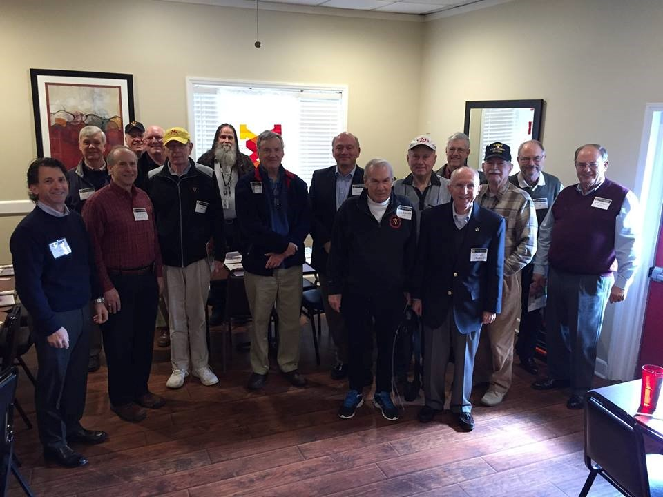 Charlotte chapter alumni standing at event