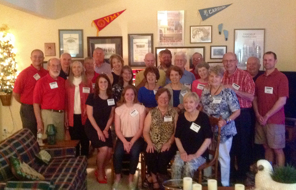 Central NC chapter alumni at New Market Day event