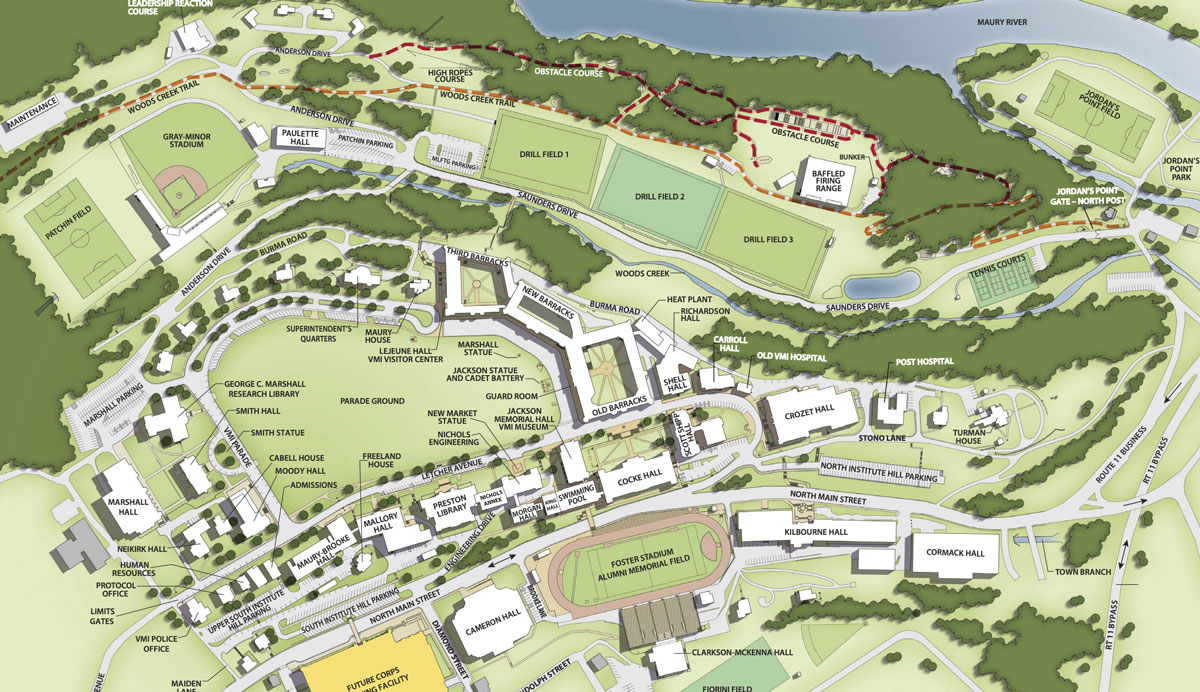 drawing of VMI post map